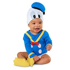 donald costume disney store deluxe donald duck costume bodysuit size 3