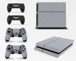 how to change the color of ps4 controller light gng ps4 console carbon silver colour skin decal vinal sticker 2 cont