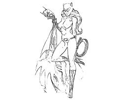 catwoman squeezing batman costume coloring pages catwoman