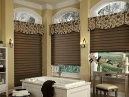 ideas for bathroom window treatments fabric covered cornice ideas custom valances u2022 cornices u2022 swags