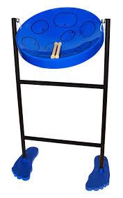 amazon com jumbie jam steel drum musical instrument blue