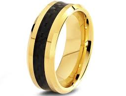 men in black wedding band black and gold wedding band wedding bands wedding ideas and
