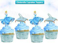 cinderella cupcake toppers disney baby minnie cupcake topper mickey cake pop topper picks