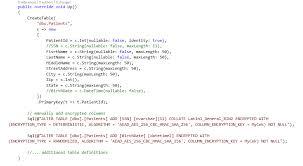 Tsql Alter Table Add Column Using Always Encrypted With Entity Framework 6 Sql Server