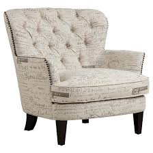 Armchairs Accent Chairs Paris Script Accent Chair Right 2 Home Target
