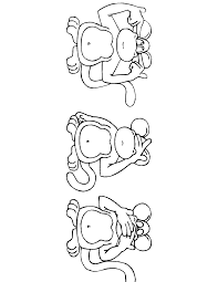 cartoon monkey coloring pages 90 free printable coloring pages