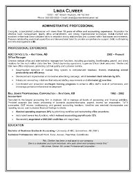 Tax Preparer Resume Sample by Resume Sample For Administrative Assistant Position Resume
