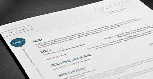 Modern Resume Templates Word Top Resume Templates Including Word Templates The Musemodern