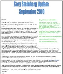 Sample Of Professional Resume by Great Examples Of Career Networking E Mail Updates