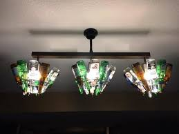 beer bottle light fixture barlite com