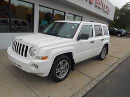 2008 jeep patriot sport 4x4 2008 jeep patriot 4x4 sport 4dr suv w cj1 side airbag package in