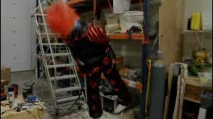 diy halloween animated props crazy clown kicker pneumatic prop animated halloween prop