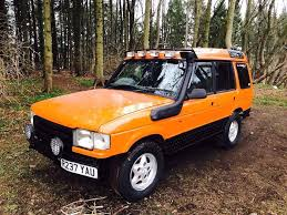 orange land rover discovery land rover discovery 300 tdi in insch aberdeenshire gumtree