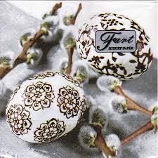 luncheon napkin ornamental eggs napkins world
