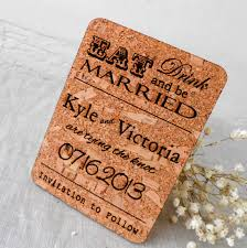 wedding invitations cork save the date cards rustic save the dates wedding save the date
