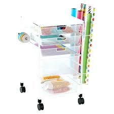 gift wrap cart rolling craft storage cart storage studios rolling craft cart