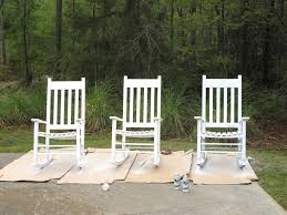 Real Wood Rocking Chairs Interesting Wooden Rocking Chairs For Front Porch Design R