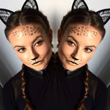 46 kickass halloween cat makeup ideas for all the feline lovers