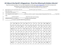 magnetism worksheet magnetism activities from which magnets will