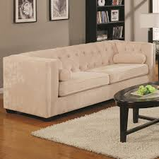 Cream Chesterfield Sofa by Velvet Chesterfield Sofa Modern Elegant Home Design