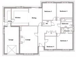 4 bedroom house plans 2 story with basement ideas 4 bedroom