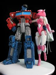optimus prime cake topper custom optimus prime elita 1 wedding cake topper tfarchive
