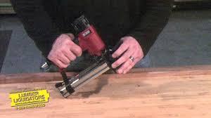 Laminate Floor Stapler Norge 4 In 1 Nailer Lumber Liquidators Youtube