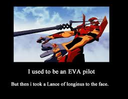 Evangelion Meme - evangelion lance to the face demot by metalshadowinsanity on deviantart