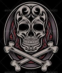 skull and crossbones by vectorfreak graphicriver
