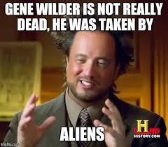 Meme Gene - ancient aliens meme imgflip