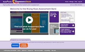 rising stars assessment bank tests and lesson starters