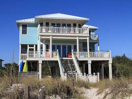 St George Island Cottage Rentals by Sunrise Point Plantation Beach Front Collins Vacation Rentals