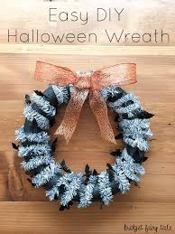 easy diy halloween wreath this fairy tale life