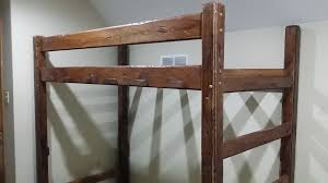 Custom Bunk Beds Rustic Bunk Beds Made From Imitated Barn Wood - Rustic wood bunk beds