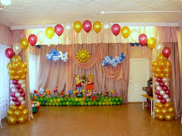 birthday decoration ideas at home with balloons and simple balloon