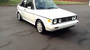 volkswagen rabbit convertible 1992 vw cabrio 5 speed convertible for sale in pennsylvania youtube