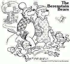 berenstain bears thanksgiving berenstain bears coloring pages coloringsuite com