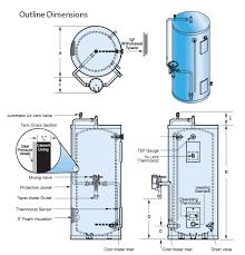 emergency safety shower water heater model emv hubbell heaters