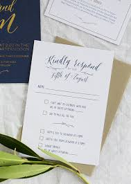 make wedding invitations gold foil and navy wedding invitations