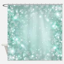 Aqua Blue Shower Curtains Aqua Shower Curtains Cafepress
