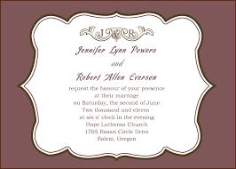 100 wedding invitation wording samples broprahshow black