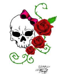 easy skull designs to draw impremedia