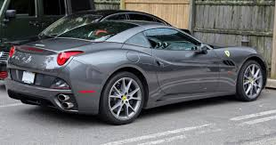 ferrari california 2016 file 2014 ferrari california grey rear right jpg wikimedia