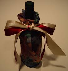 bows for wine bottles wine bottle wrap with bows wine presents to make and enjoy