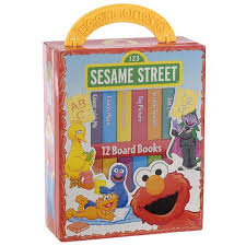 Elmo Bedroom Set My First Library Sesame Street Toys