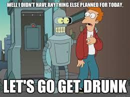 Drunk At Work Meme - fridays after work rebrn com