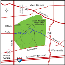 Illinois Tollway Map Directions To Fermilab Public Events