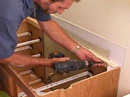 How To Change Bathroom Vanity How To Replace A Bathroom Vanity How Tos Diy