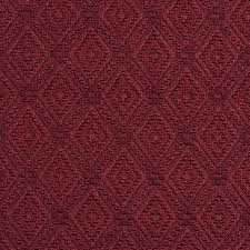 Diamond Upholstery Wine Red Burgundy Prism Decorative Small Diamond Brocade