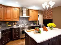 Granite Kitchen Countertops Granite Kitchen Countertops With Backsplash Four Wooden Dining